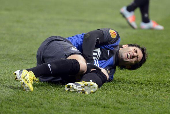 Diego Milito vio cortada de tajo su carrera deportiva pues estando en el...