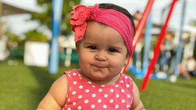 Mira lo mucho que ha crecido Silvana, la bebita del chef Yisus (fotos)