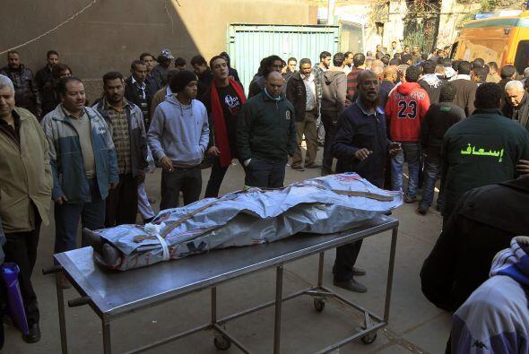 """Un médico del hospital, Amir al-Masri, indicó que """"la..."""
