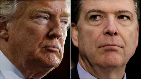 James Comey dice que el fiscal general no debió dejarlo solo con Trump e...