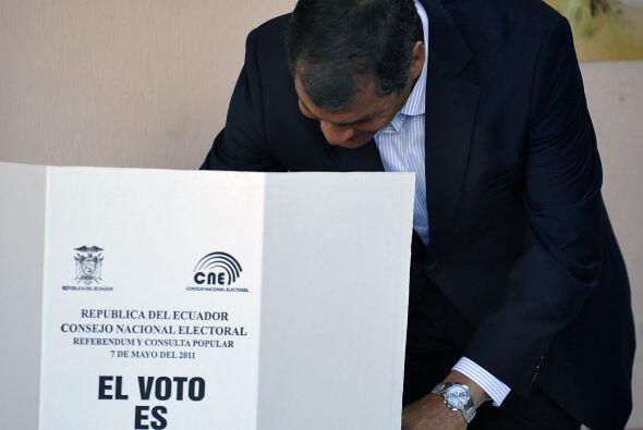 """Agregó que """"sin importar las diferencias, en democracia todos los votos..."""