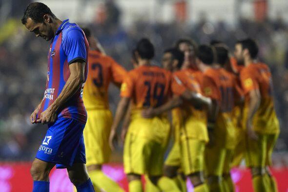 Por si fuera poco, un penalti polémico fue marcado contra los 'blaugrana...