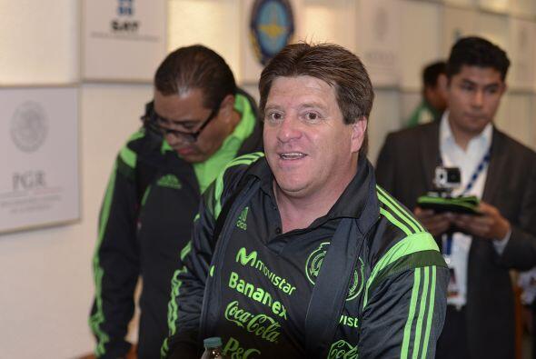 Miguel Herrera no quería frustrar a nadie, pero entre su universo...