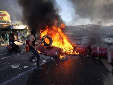 Los combates entre Israel y Hamás en la Franja de Gaza llevan ya...