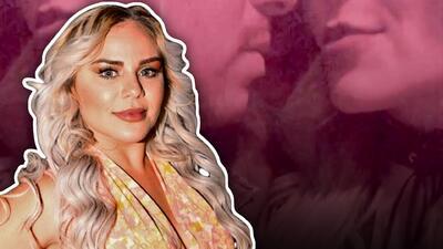 """Ya no es tan """"privado"""": Claudia Galván presume los besos que recibe de su nuevo galán"""