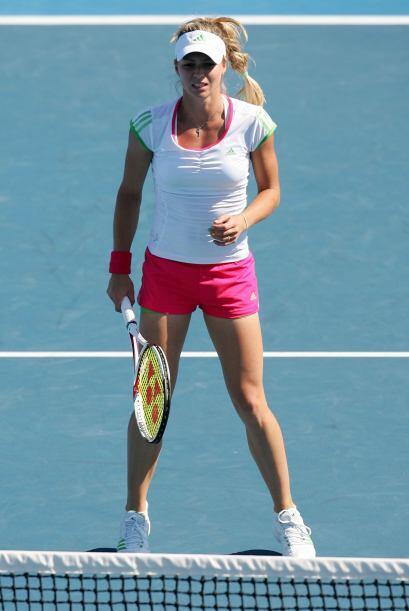 ¡Nuevamente gracias Rusia! Por darnos otra  hermosa tenista, la Kirilenk...