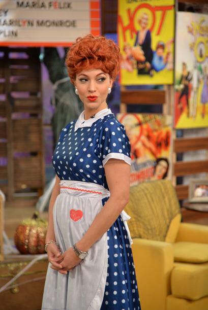 Satcha se veía bellísima, Lucy y ella ¡podrían ser hermanas gemelas!