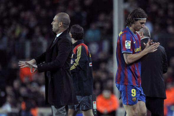 Otro que tuvo enfrentamientos verbales fue Guardiola, el entrenador tuvo...