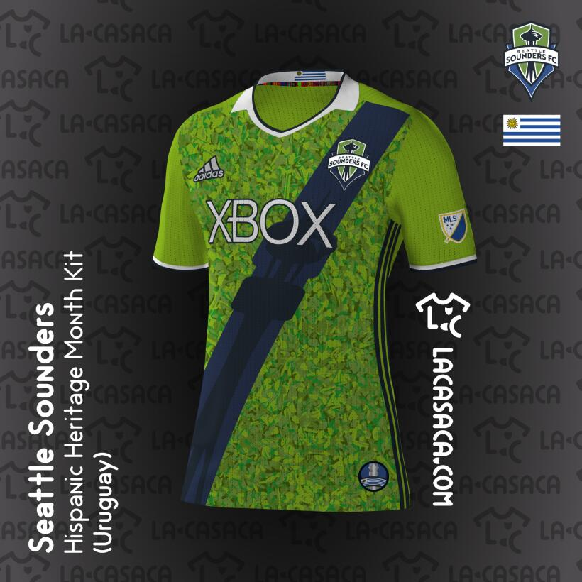 Camisetas hispanas de la MLS 2016