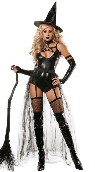 El disfraz de bruja ocupa el primer lugar de los más populares.