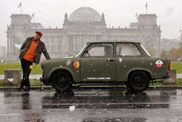 El Trabant se convirtió en un icono de Alemania porque era uno de los po...