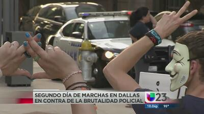 Vuelven a protestar en Dallas