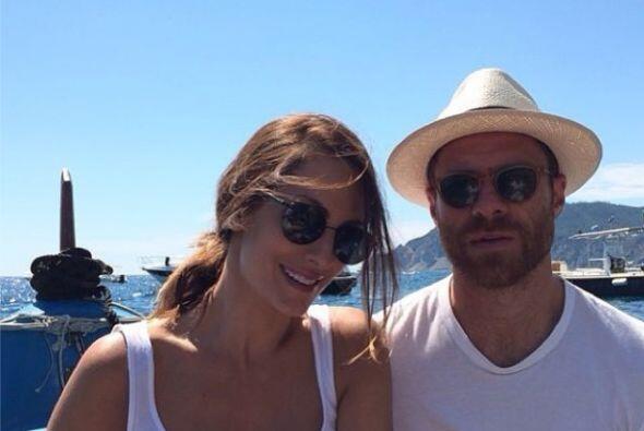 Xabi Alonso se fue a descansar con su mujer en las playas de Madrid ante...
