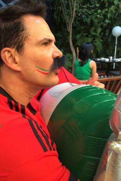 Julio Camejo, muy aficionado. Todo sobre el Mundial de Brasil 2014.