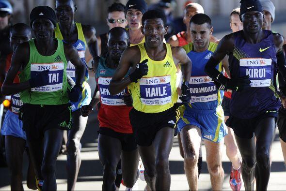 El maratón de NY tiene un recorrido de 42,195 kilómetros y se celebra ca...