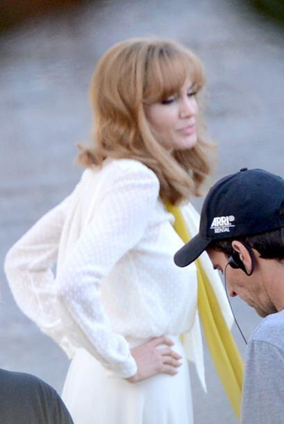 La pareja estuvieron filmando varias escenas.