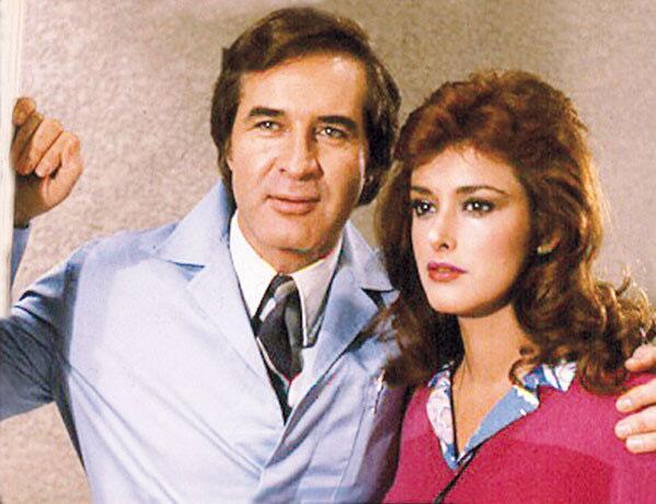 """Rogelio Guerra y Lucía Méndez en """"Vanessa"""""""