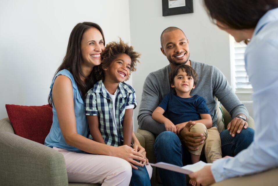 familia adopción