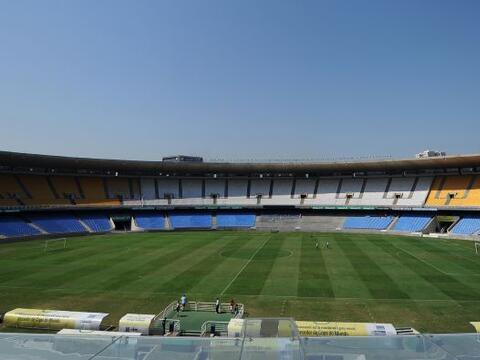 Las obras de reforma del legendario estadio Maracaná de Rí...