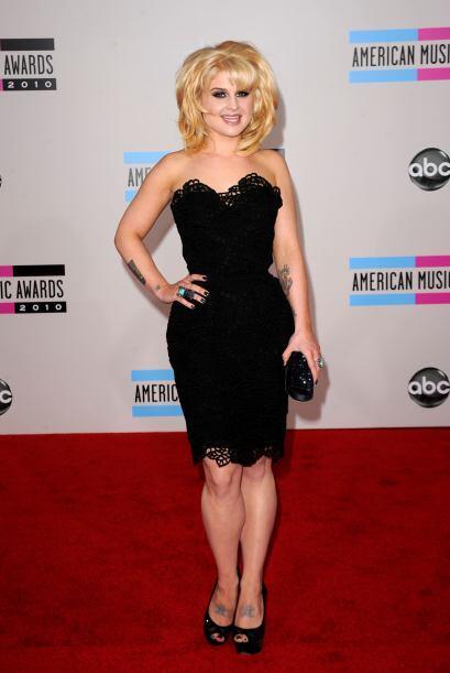 Kelly Osbourne está disfrutando vestir su nueva figura y se nota. Con es...