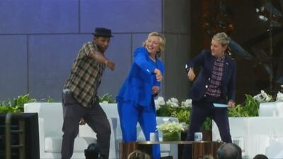 Hillary Clinton parece querer emular a su esposo Bill en la campaña elec...