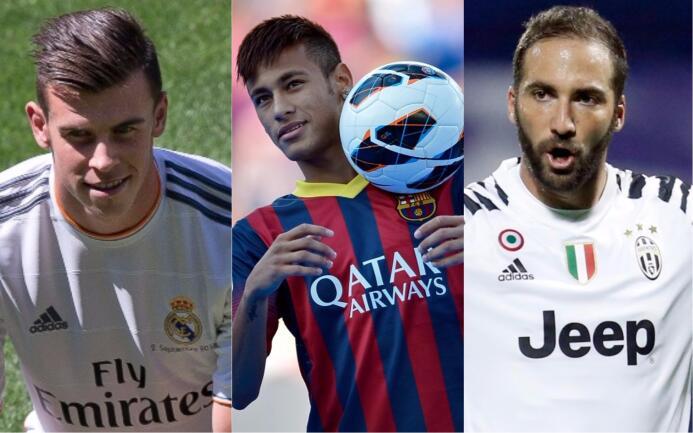 ¿Los superarán? Los 20 fichajes más costosos en la historia del fútbol m...