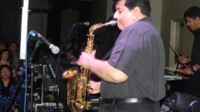 Fito Olivares en concierto