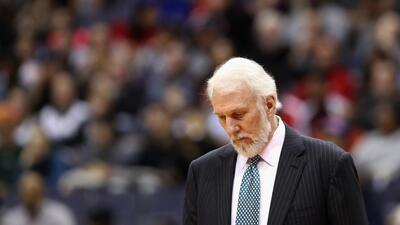 Gregg Popovich y su longeva relación con los Spurs estaría cerca de concluir