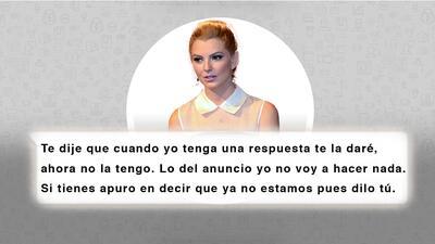 """""""La gente no es tonta Julián"""", los nuevos chats de Julián Gil y Marjorie de Sousa sobre su separación"""