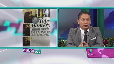 William Venegas niega persecución con Topy Mamery