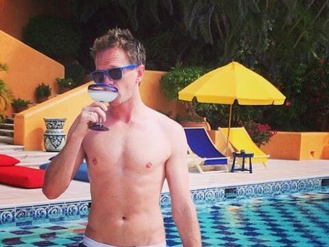 Neil Patrick Harris se fue de vacaciones a México con su pareja,...