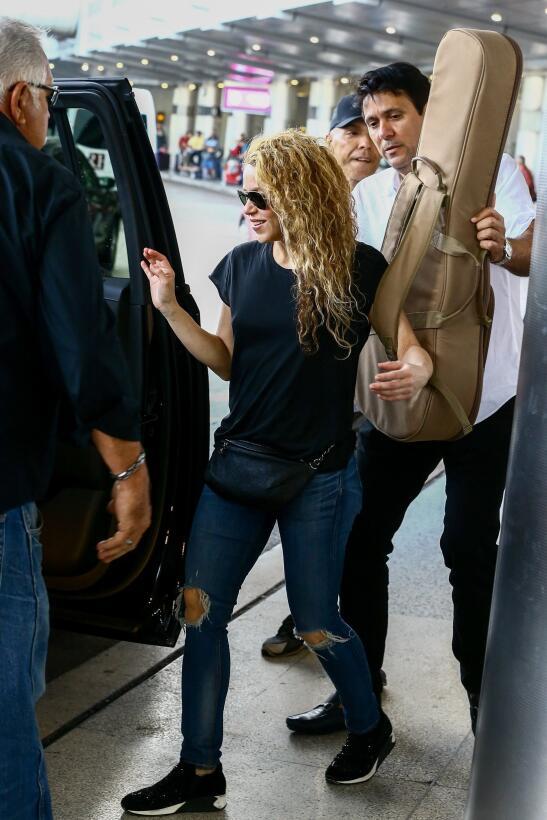 Shakira en Miami, el 7 de marzo de 2018