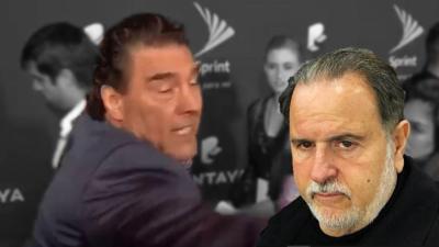 Raúl de Molina está sorprendido por la agresión de  Eduardo Yáñez.