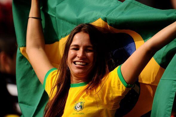 Pero al final de todo, la felicidad reinó y, como es costumbre, Brasil g...