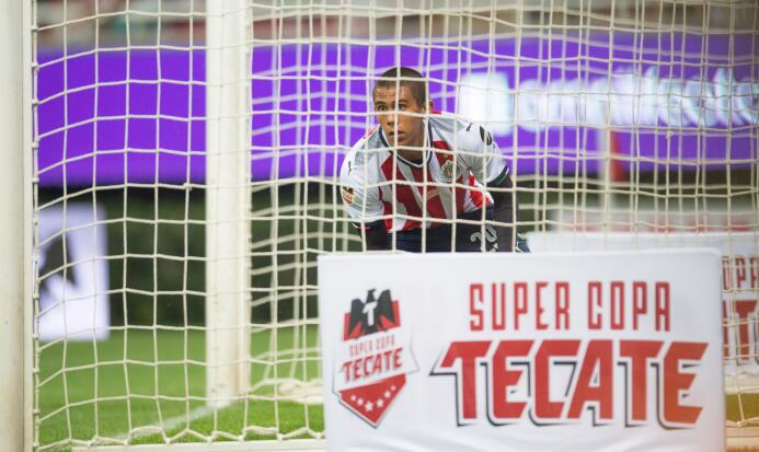 Chivas y Porto empatan con polémico final Gol Oscar Macias Chivas.jpg