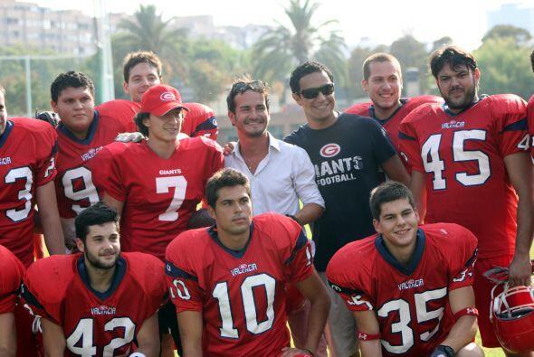 Al término de la práctica, Andrés mostró humildad y agradeció a todos po...