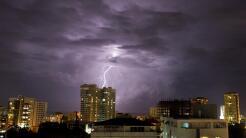 Además de lluvias que causaron inundaciones, el huracán María también de...