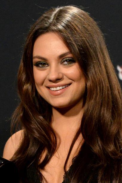 Mila Kunis es una de las famosas con los ojos más bonitos, no obstante,...