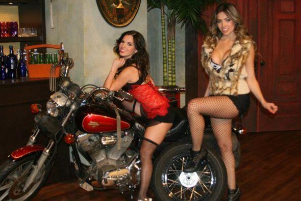 Hasta se querían llevar la motocicleta a su casa