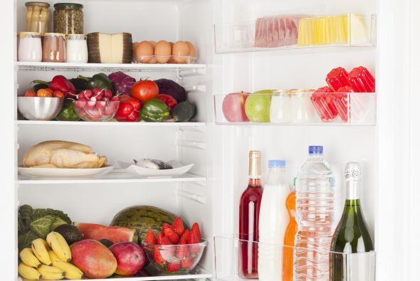 Mantén tu refrigerador organizado. Parece un detalle, pero es la clave p...