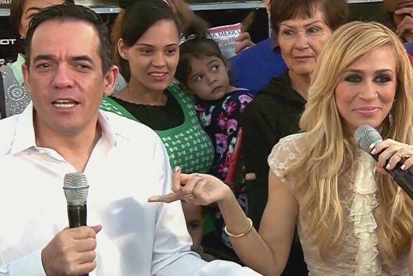 Y cuando le preguntaron si habría cabida de una reconciliación, Noelia c...