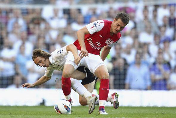El 2 de octubre de ese mismo año, Aaron Ramsey le marcó gol al Tottenham...
