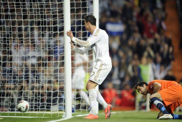 A los 31 minutos de la primera mitad, Cristiano Ronaldo puspo el 2 a 0.