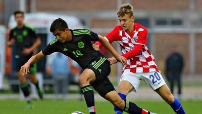 México perdió 4-3 con Croacia