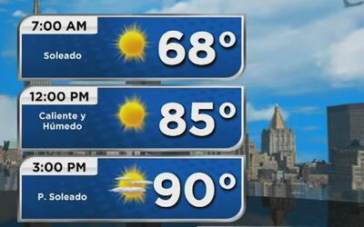 Advertencia de calor extremo para este martes en Nueva York