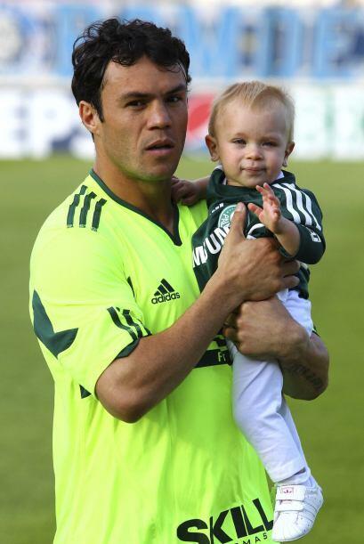Previo al empate (1-1) con Cruzeiro, Kleber, del Palmeiras presentó a su...