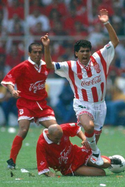 Por lo que avanzaron a la final del Verano 1998 el primer lugar, Toluca,...
