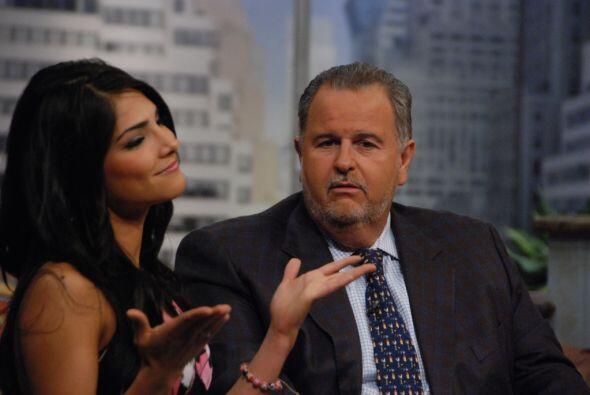 Espinoza fue la primera ganadora del show Nuestra Belleza Latina, lo que...