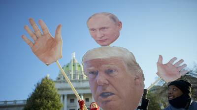 Una jornada de protestas que no evitó que el Colegio Electoral certificara a Donald Trump como presidente electo de EEUU