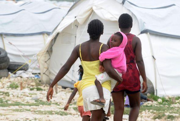 """""""En Haití, para que los pobres tengan un año hermoso, pues los ayudaría..."""
